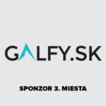 Galfy.sk - sponzor 3. miesta NTS2018